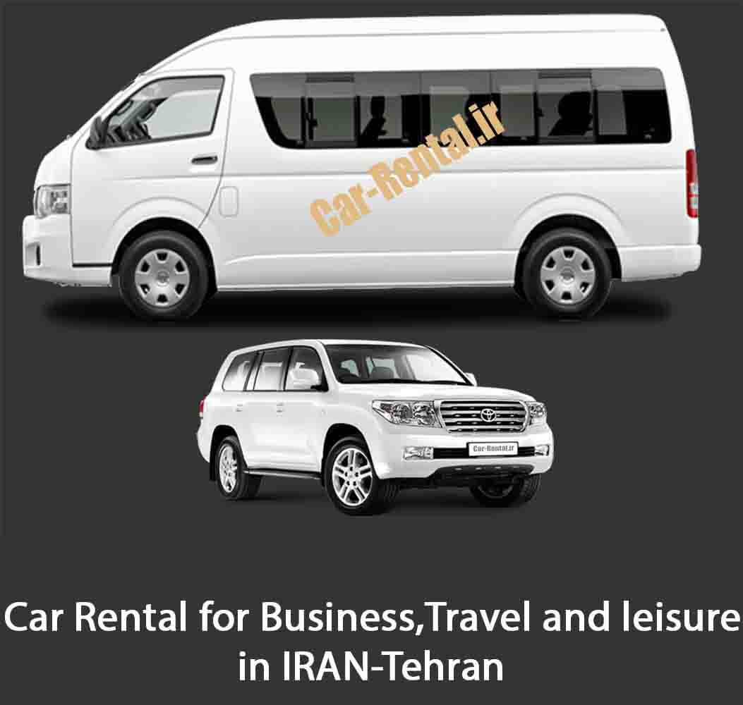 Rent a car in Tehran